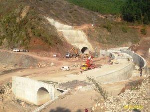 Küçük Aksu Barajında Çalışmalar Devam Ediyor