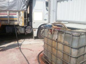Denizli'de 6 Ton Kaçak Akaryakıt Ele Geçirildi