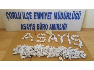 Çorlu Polisinden Uyuşturucu Tacirlerine Geçit Yok