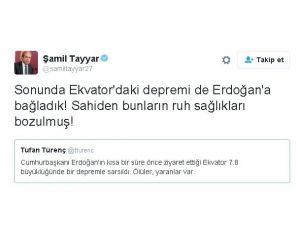Milletvekili Tayyar'dan Gazeteci Tufan Türenç'e Alaylı Tepki