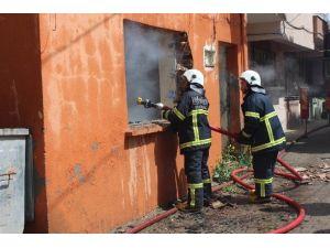 Tekirdağ'da Metruk Bina Yangını