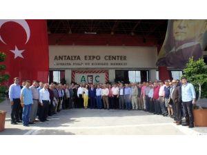 Aydın Ticaret Borsası Üyelerini Doğal 2016 Antalya Fuarıyla Buluşturdu