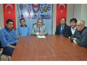 Malatya Birlik Haber-sen Taraflı Yöneticilere Tepki Gösterdi