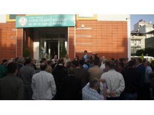 Bilim Ve Sanat Merkezi, Aydın Ticaret Borsası Üyelerine Tanıtıldı