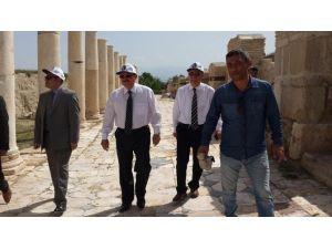 Vali Kocatepe, Tripolis'te İncelemelerde Bulundu
