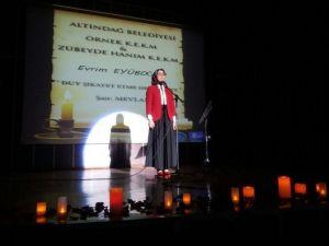 Altındağlı Kadınlar Yeteneklerini Şiir Alanında Da Gösterdiler