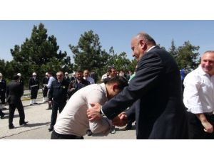 Yaş Haddinden Emekli Olan İl Emniyet Müdürü Ali Ekber Bektaş Uğurlandı