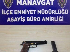 Sosyal Paylaşım Sitesi Üzerinden Tabanca Satışa Çıkaran Şahıs Gözaltına Alındı