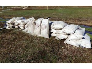 Van'da İki Ton Amonyum Nitrat İçerikli Gübre Ele Geçirildi