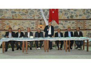 Milletvekili Baloğlu Ve Başkan Akkaya Muhtarlarla Buluştu