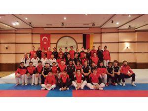 Türkiye ve Almanya Taekwondo Milli Takımları, ortak hazırlık kampında