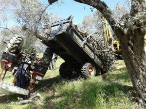 Aydın'da Traktör Kazası
