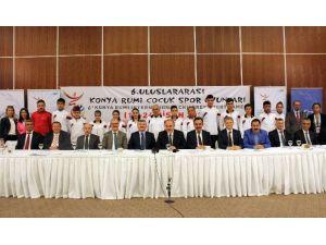 6. Uluslararası Konya Rumi Çocuk Spor Oyunları Başlıyor
