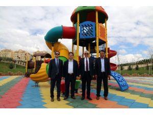 Aksaray'da Gençosman Parkı Açılışa Hazırlanıyor