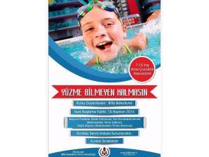Bitlis Belediyesi'nin Yüzme Kursu Kayıtları Başladı