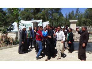 Roketli Saldırıda Ölen 5 Suriyelinin Cenazesi Kilis'e Getirildi