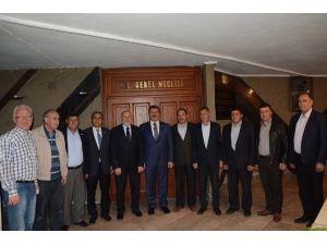 Özkaya'dan Başkan Sel'e Ziyaret