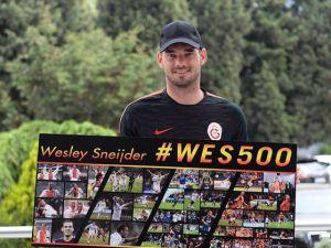 Wesley Sneijder, 5. dalyaya hazırlanıyor