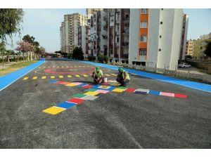 Erdemli'de Çocuklara Özel Sokak