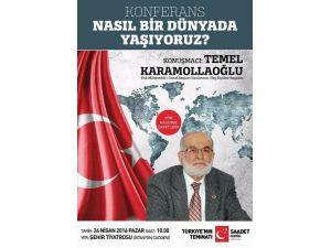 Temel Karamollaoğlu Kayseri'ye Geliyor