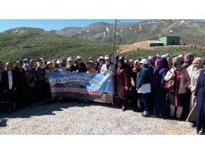 AK Partili Kadınların Bitlis Çıkarması