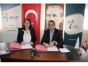 Trakyaka-işkur Girişimcilik Eğitimleri İşbirliği Protokolü İmzalandı