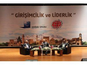 Ferit Şahenk'ten Öğrencilere Girişimcilik Dersi