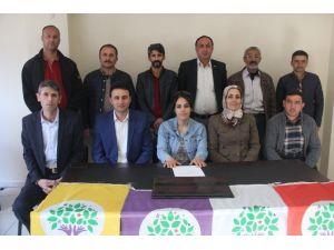 HDP Hakkari Merkez İlçe Başkanlığı Kongreye Gidiyor