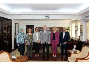Büro Sen'den Vali Özcan'a Ziyaret