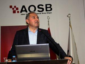 """Sanayicilere """"Enerji Verimli Sanayi Projesi"""" Anlatıldı"""