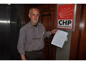 Çevreci CHP Üyesinin İhracı İsteniyor