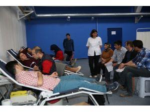 AGÜ'de Kan Bağışı Kampanyası