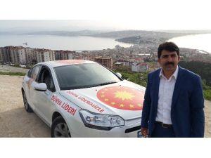 Eski DSP Genel Başkan Adayı Erdoğan'a Destek İçin Türkiye Turunda