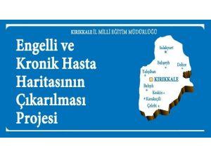 Kırıkkale'nin Engelli Ve Kronik Hasta Haritası Çıkartıldı