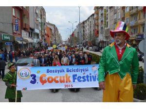 Bozüyük'te 23 Nisan 4. Çocuk Festivali Başlıyor