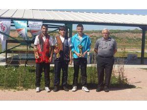 Kağıtsporlu Atıcı Trap Federasyon Kupasında Gümüş Madalya Kazandı