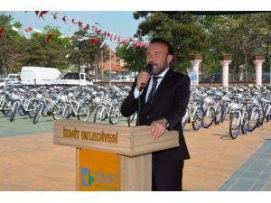 """Başkan Doğan: """"Bisiklette Avrupa'yı Geçeceğiz"""""""