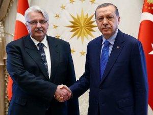 Cumhurbaşkanı Erdoğan, Polonya Dışişleri Bakanı Waszczykowski'yi kabul etti