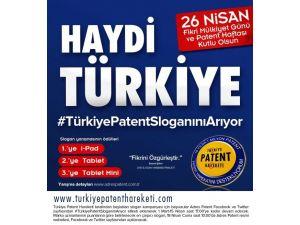 Türkiye, patent sloganını seçti