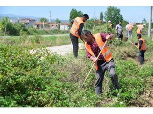 Erbaa Belediyesi'nden Kent Genelinde Bahar Temizliği