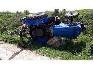Bilecik'te Traktör Kaza: 2 Yaralı