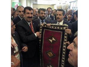 Birlik Başkanı Akın, Sorunları Bakan Çelik'e İletti