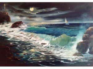 Yorgo Seferis Art Galeride Halil Bayık Resim Sergisi