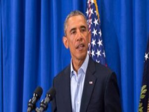 Obama, Kralı Salman'la Görüşmek Üzere Suudi Arabistan'a Geldi