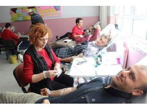 Beylikova'da Kan Bağışı Kampanyası