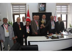 Balcı, Türkiye Üçüncülerini Kabul Etti