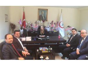 Başkan Bakıcı'dan Başhekim Gürsoy'a Hayırlı Olsun Ziyareti