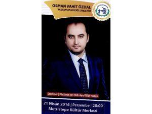 Kutlu Doğum Haftası Etkinliklerinde Osman Vahit Özdal Dinletisi