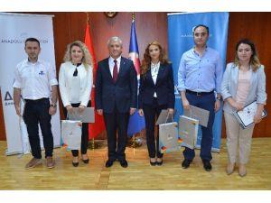 Pts Programı Sertifikaları Anadolu Üniversitesi'nde Sahiplerini Buldu