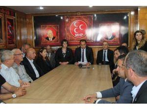 MHP Bolu İl, Merkez İlçe Ve Kadın Kolları Teşkilatı Görevden Alındı